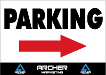 Parking-Arrow-Sign-24x18