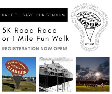 5K Race to Save our Stadium or 1 Mile Fun Walk