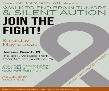 10th Annual National Walk to End Brain Tumors and Silent Auction