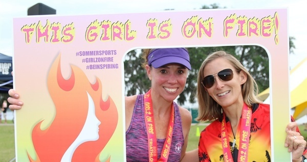 Girlz on Fire Sprint Triathlon and 5K