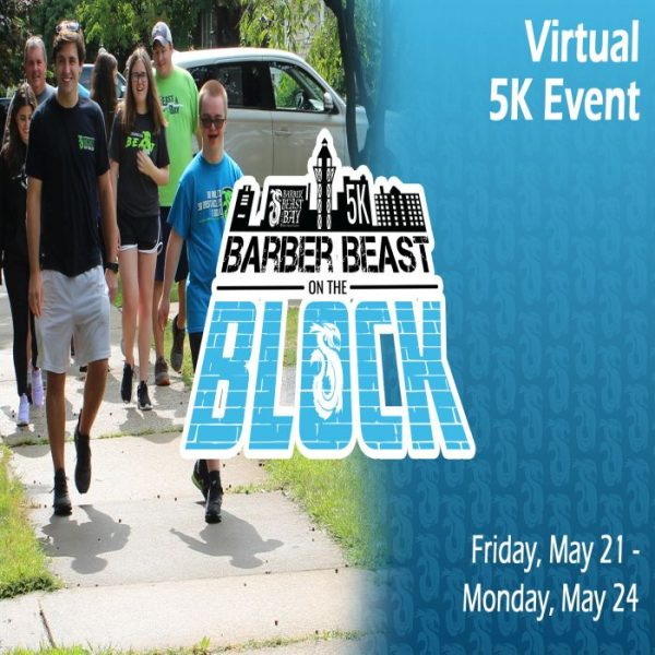 Barber Beast on the Block Virtual 5K