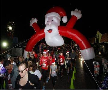 Santa's Twilight 5K- Clermont
