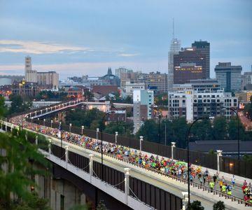 FirstEnergy Akron Marathon, Half Marathon and Team Relay, September 25, 2021 in Akron