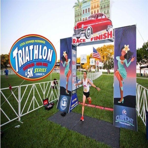 Cool Sommer Mornings Triathlon & 5K Series #2- Toga Party