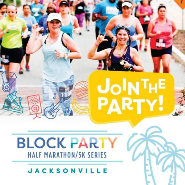 Block Party Half Marathon/5K Series: Jacksonville